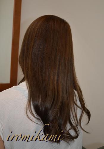 iromikami『アッシュベージュ』カラー
