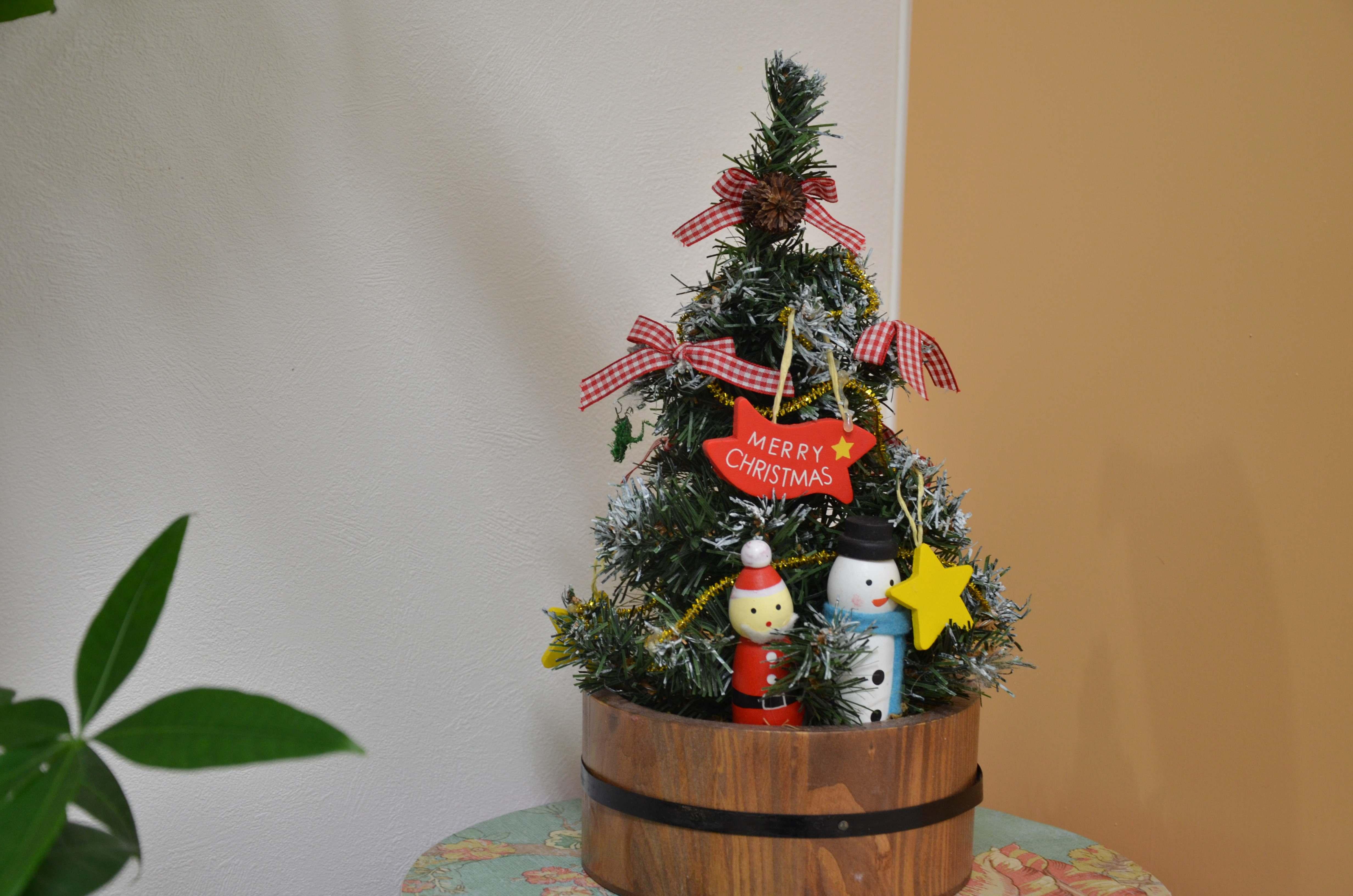 ちいさなクリスマスツリー